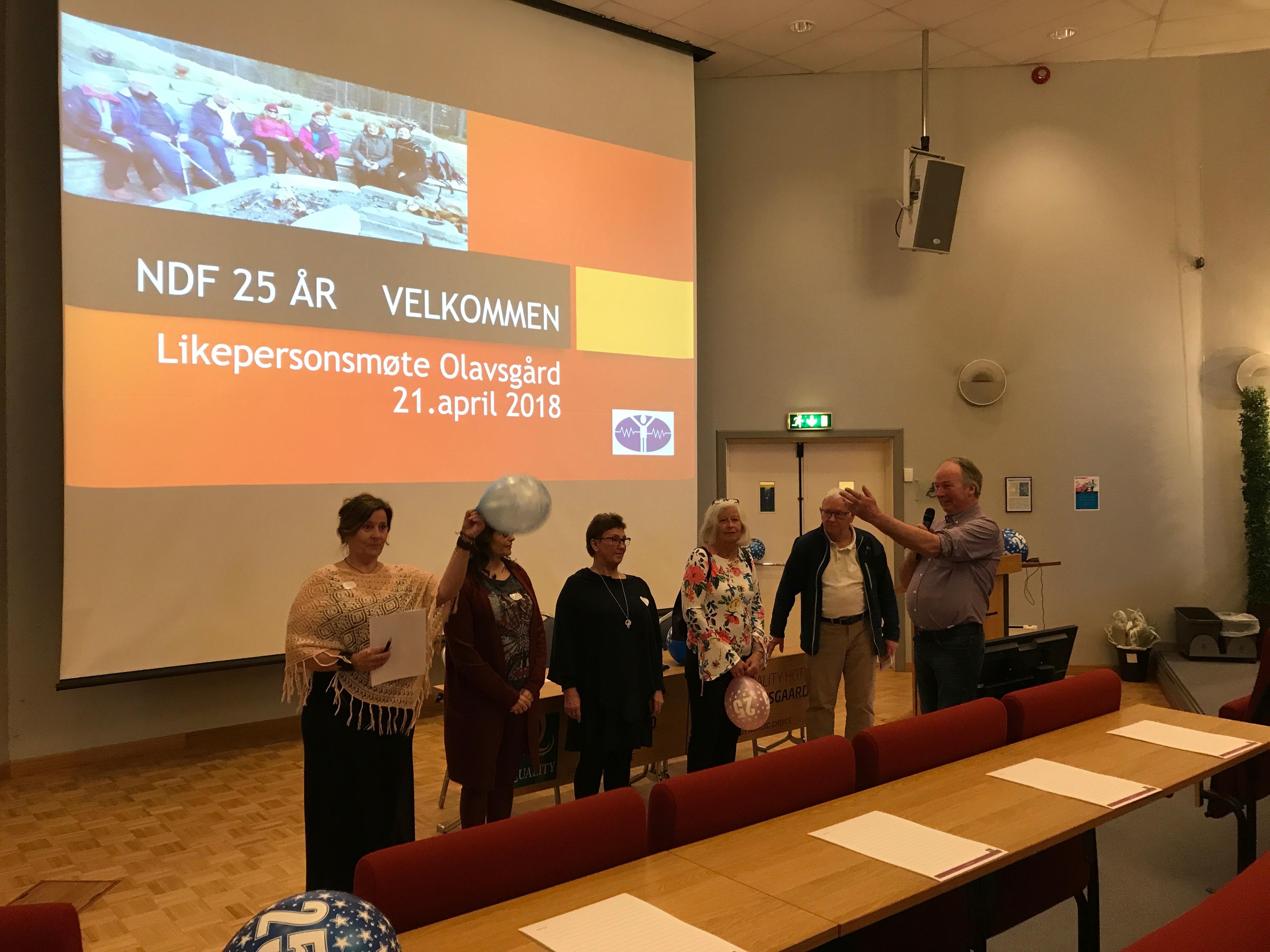 Norwegian Dystonia Association 25th Anniversary Celebration