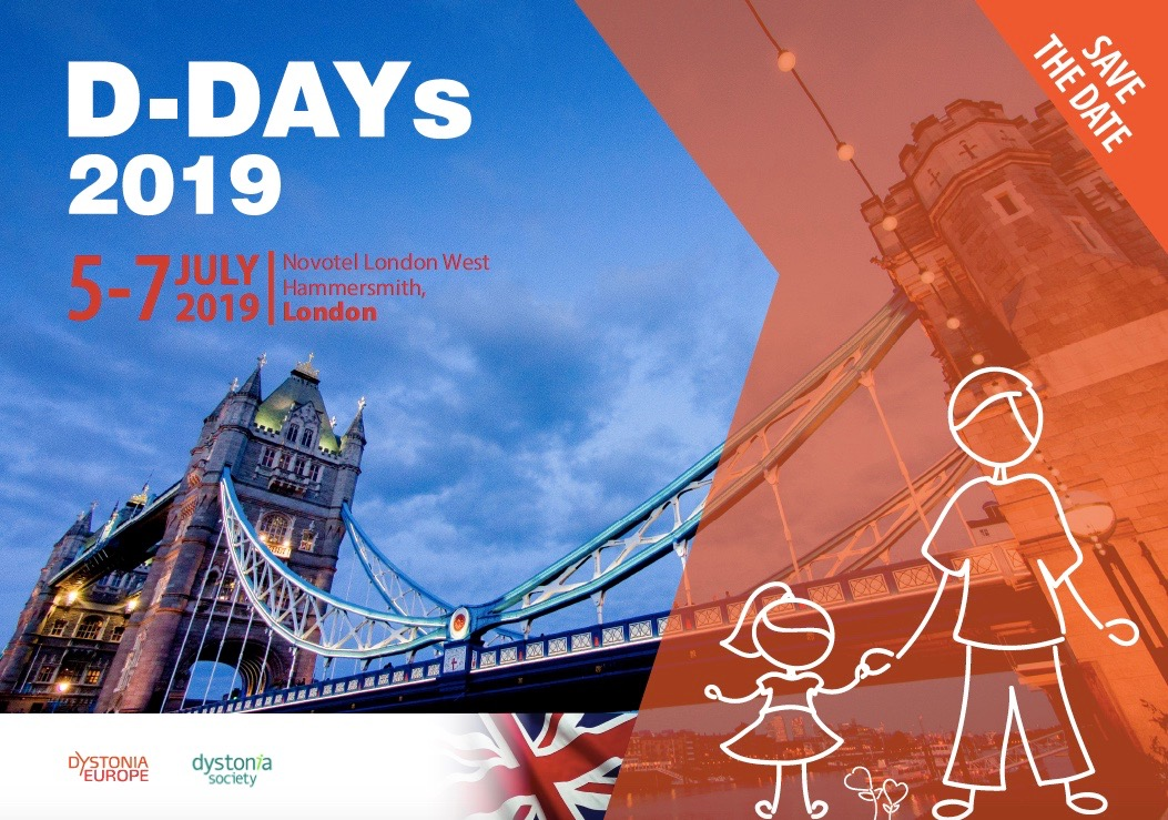 Dystonia Europe 2019 - London - Dystonia Europe